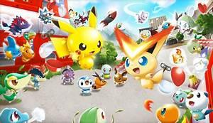 pokemon rumble u imagenes del primer pokemon para wii u