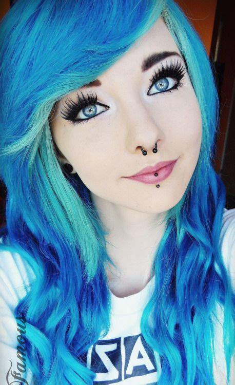24 Dyed Hairstyles You Need To Try Emo Hairstyles