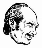 Mustache Sideburns Clip Illustrations Vector sketch template
