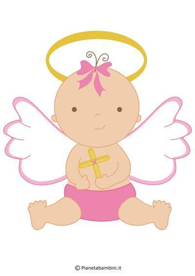 battesimo clipart immagini di angeli da stare e ritagliare per
