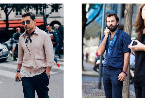 comment porter une echarpe homme comment bien porter et nouer un foulard pour homme nos conseils