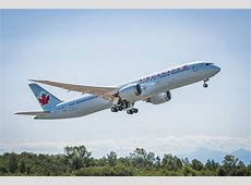 Air Canada Welcomes First Boeing 7879 Dreamliner to its
