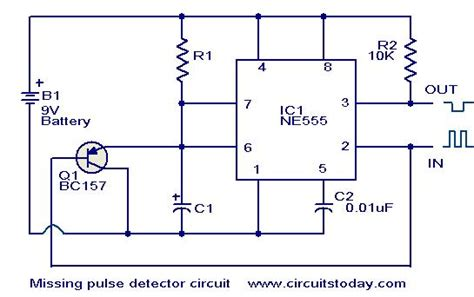 Missing Pulse Detector Circuit Using Todays