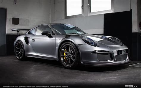 Carbon Sport Package For Porsche 911 Gt3 Rs From Techart