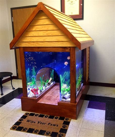 Best Flooring For Kitchen With Dogs by Fish Tank Doghouse A Dream Home For Your Furry Friend