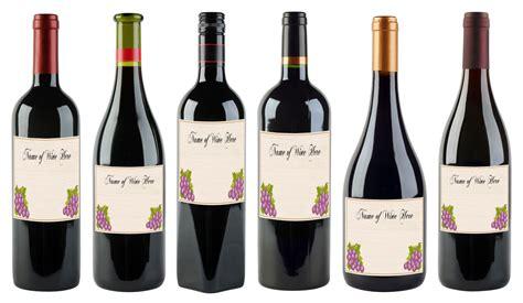 wine bottle wine bottle labels template bamboodownunder com