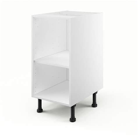 caisson bas de cuisine caisson de cuisine bas b40 delinia blanc l 40 x h 85 x p