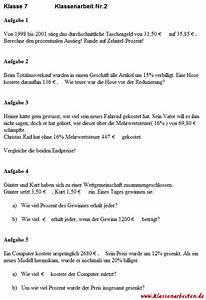 Dreisatz Berechnen : 2 mathematik klassenarbeit zu prozentrechnung ~ Themetempest.com Abrechnung