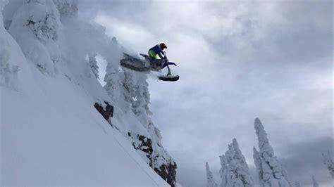 cody matechuks yzf yeti  snowbike build snow