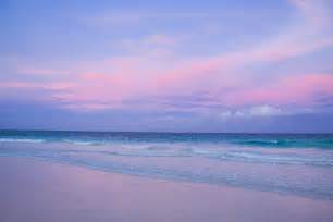 Pink Sand Beach Sunset