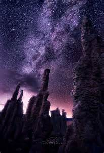 Milky Way at Mono Lake California