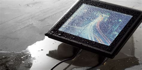 Rugged Touchscreen Industrie Pc