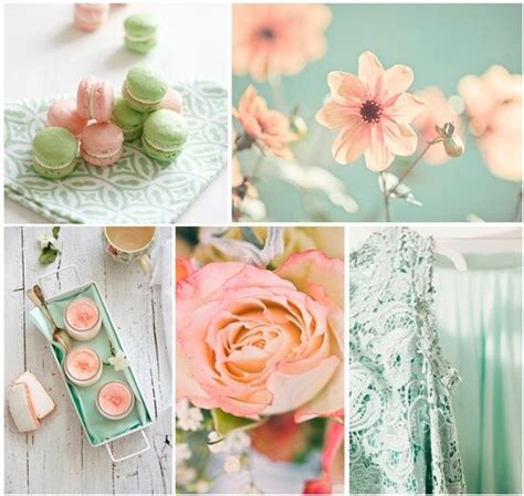 mariage couleur blanc vert rose pale recherche google