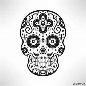 Crane Mexicain Dessin : cr ne d coratif mexicain jour des morts fichier vectoriel libre de droits sur la banque d ~ Melissatoandfro.com Idées de Décoration