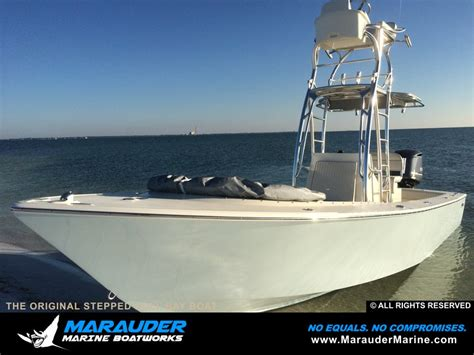 Stepped Hull Fishing Boat by Exle Of Fishing Boat With Stepped Hull Marauder