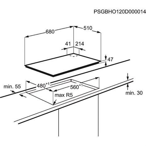 plaque en verre pour cuisine table de cuisson gaz egt7353yok electrolux webdistrib com