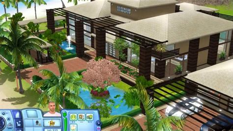 modern mansion floor plans sims 3 tropical house with plans