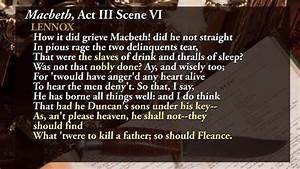 Macbeth Act 3 S... Macbeth Scene Quotes