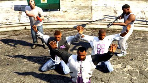 Gta V Franklin And Trevor Kills Ballas Gang