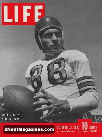 sale life magazine october   ohio football