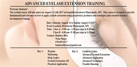 eyelash extension  bamboo bliss promakeuptutor