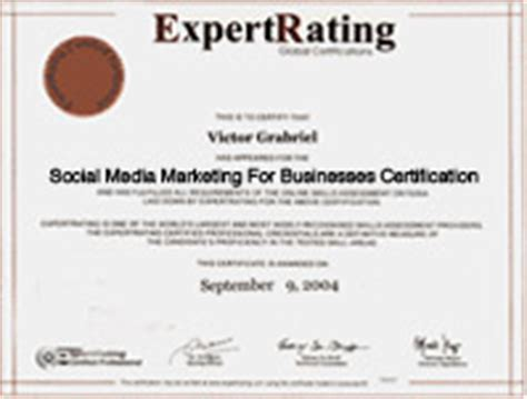 social media certificate free certificate in social media manager