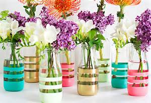 mediterranean designs trending on diy painted bottles for fresh flowers scoopnest