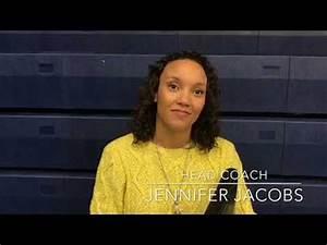 Head Coach Jennifer Jacobs Discusses Win Over BHSU - YouTube