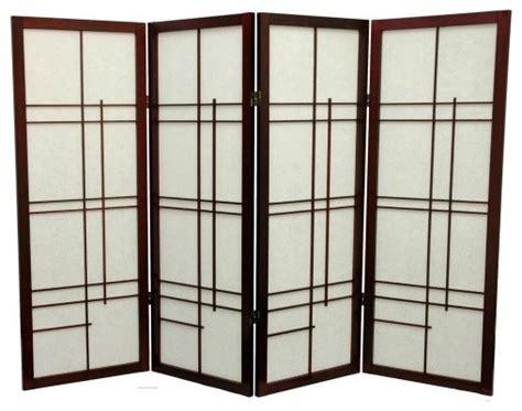 Oriental Furniture Low Eudes Shoji Screen Room Divider