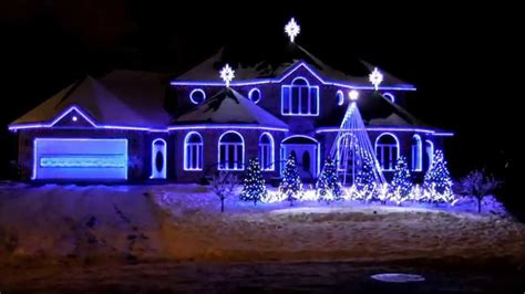 bernier lights show amazing grace techno 2014