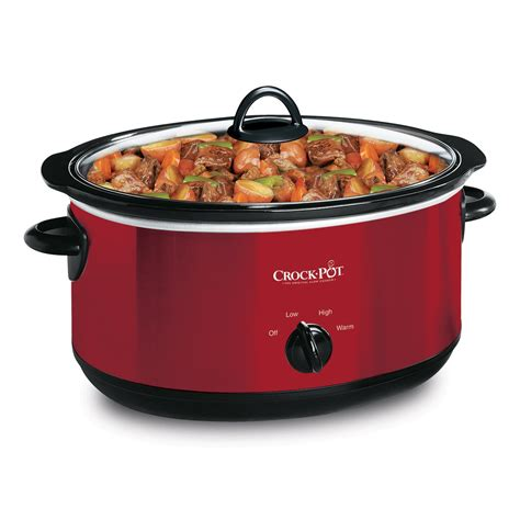 crock pot 174 manual cooker with travel at