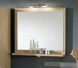 Badspiegel Mit Ablage : wandpaneel mit spiegel inkl ablage ohne beleuchtung ebay ~ Eleganceandgraceweddings.com Haus und Dekorationen