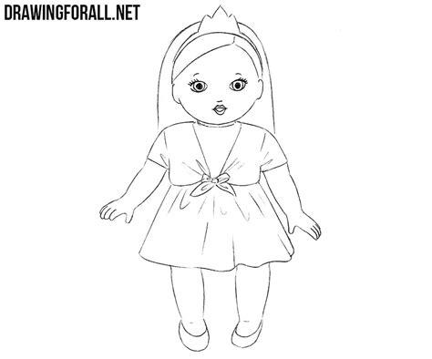draw  doll drawingforallnet