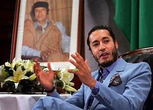 Image: Saadi Gaddafi, the third son of Libyan leader ...