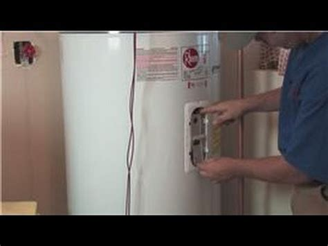 Changing Out The Anode Rod In A Hot Water Heater  How To