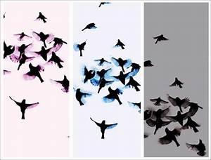 Papier Peint Papillon Oiseau : papier peint design avec oiseaux trove ~ Zukunftsfamilie.com Idées de Décoration