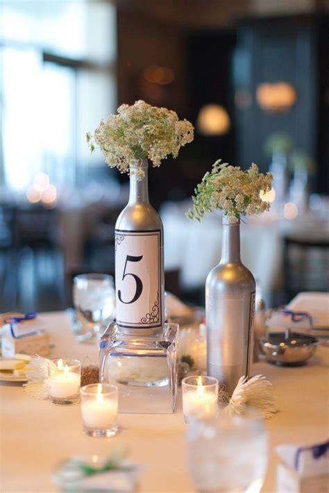deco centre de table mariage original centre de table original d 233 co sp 233 ciale avec des bouteilles