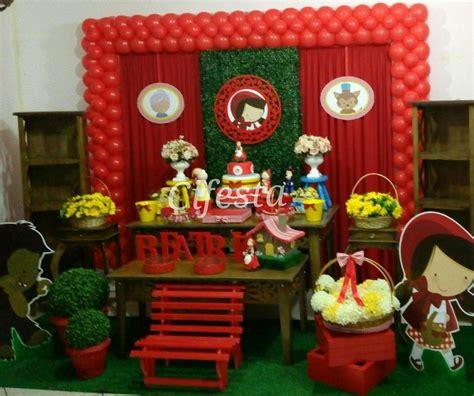 festa infantil chapeuzinho vermelho rustico pesquisa google feria culturas pinterest