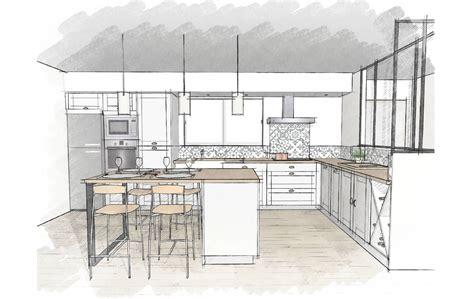 cuisine ikea blanche et bois cuisines et nos vues 3d déco cuisine