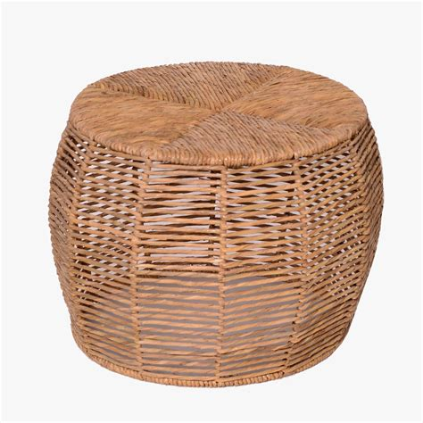 17 high x 27 x 57condition:has wear and scratches. Woven Rush Small Coffee Table | Small coffee table, Rattan coffee table, Table