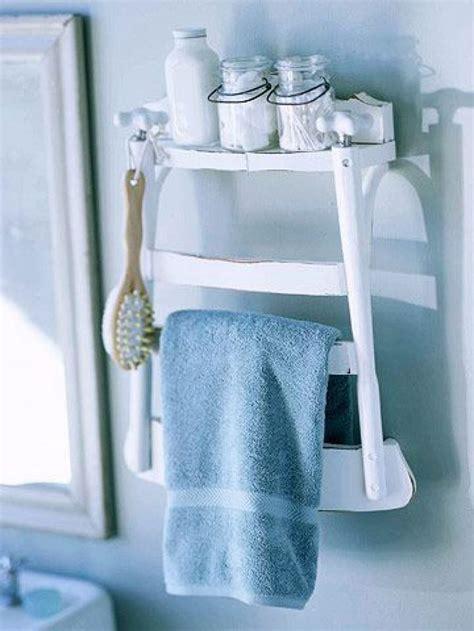 Stuhl Als Regal by Tolle Idee F 252 R Unser Badezimmer Einen Alten Stuhl