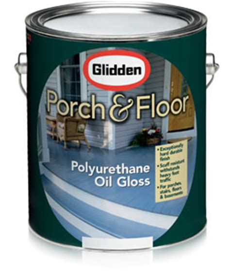 glidden 174 porch floor oil alkyd polyurethane gloss