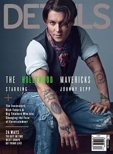 Johnny Depp Cover Details Magazine
