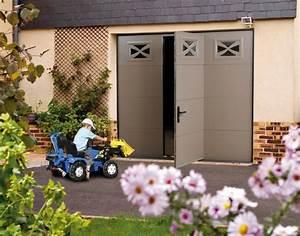 Porte Garage Sectionnelle Avec Portillon : porte de garage sectionnelle avec portillon int gr ~ Melissatoandfro.com Idées de Décoration