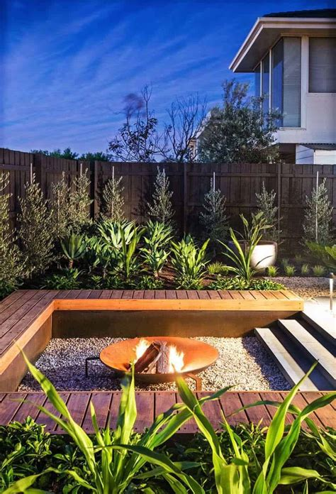 Contemporary Backyard by 35 Modern Outdoor Patio Designs That Will Your Mind
