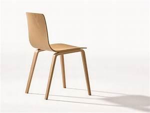 Chaise Bois Design : aava chaise en bois by arper design antti kotilainen ~ Teatrodelosmanantiales.com Idées de Décoration