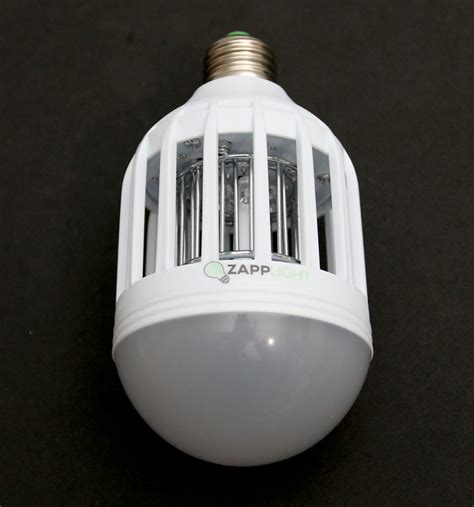 zapplight indoor bug zapper light bulb review the gadgeteer
