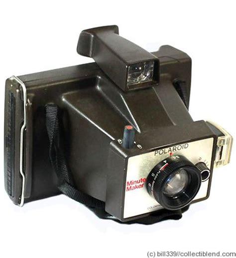 Polaroid Value Polaroid Minute Maker Price Guide Estimate A Value