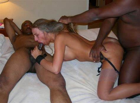 Fake Mandingo Bush Drilled And Deepthroating Session