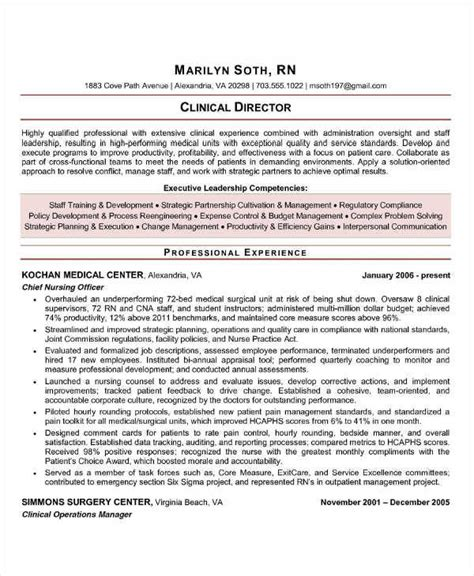 clinical resumes 44 manager resume example